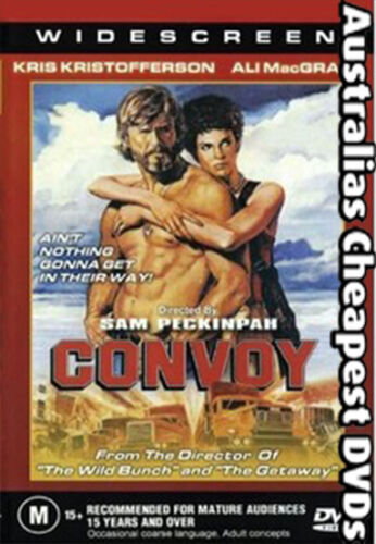 Convoy DVD NEW, FREE POSTAGE WITHIN AUSTRALIA REGION ALL