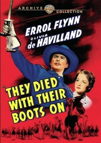 They Died With Their Boots On [New DVD] Full Frame, Amaray Case