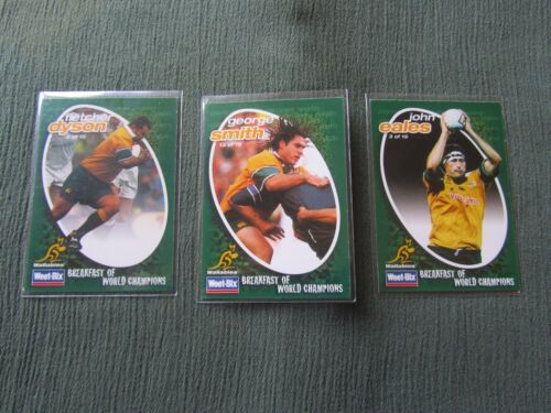 WeetBix Wallabies Rugby Union Collectors CardsRugby Union Cards - 2969