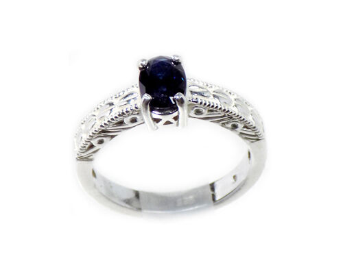 Antique 19thC ¾ct Sapphire Gem of Ancient Rome Persia Sorcery Oracles Ring