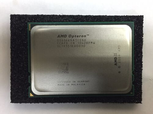 AMD Opteron 6166HE 1.8Ghz 12-Core Processor OS6166VATCEGO 633545-001 596136-002