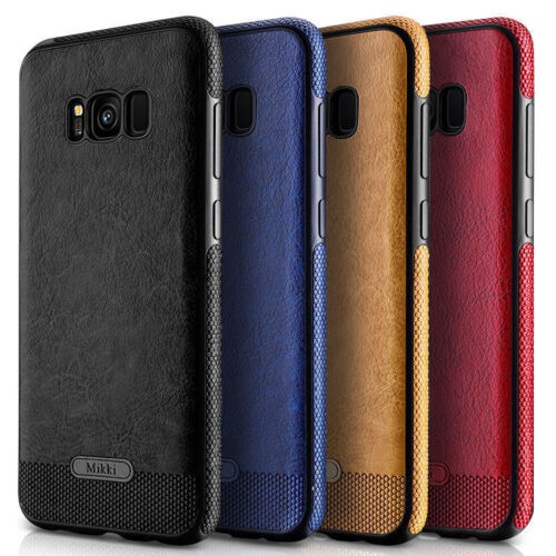 Luxury Ultra-Thin PU Leather Back Phone Case Cover For Samsung Galaxy S8 Plus