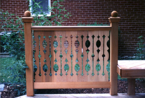 (SAMPLE OR QUANTITY) SECOND EMPIRE CEDAR PORCH OR DECK BALUSTERS (FLAT SAWN)