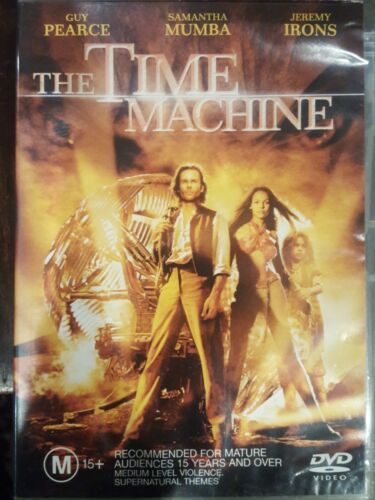 THE TIME MACHINE RARE DELETED OOP R4 DVD FILM GUY PEARCE H G WELL SAMANTHA MUMBA