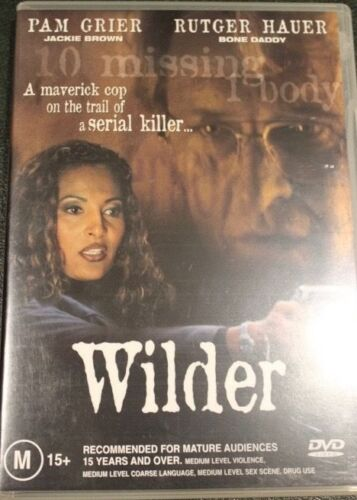 WILDER R4 DVD RARE OOP DELETED CULT DRAMA MOVIE PAM GRIER, RUTGER HAUER FILM