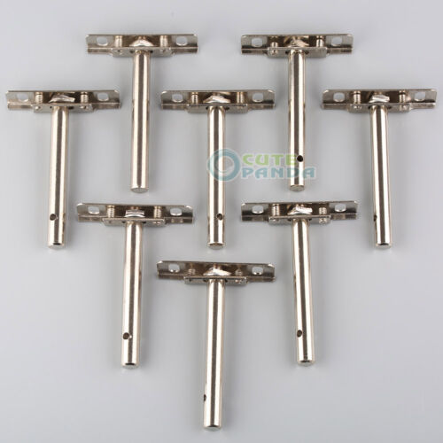 US 4 Pairs 8 Pcs Heavy Duty Concealed Shelf Support Brackets Hidden Floating