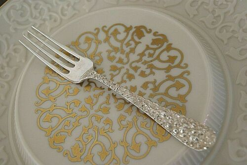 Stieff Rose Sterling Silver Dinner Fork No Monogram