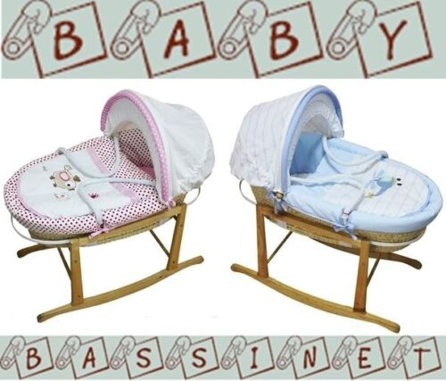 NEW Baby MOSES BASKET / Bassinet /Carrier and Baby ROCKING STAND Package <br/> ✔5% Discount✔Use code PLACE at checkout✔AU Standard