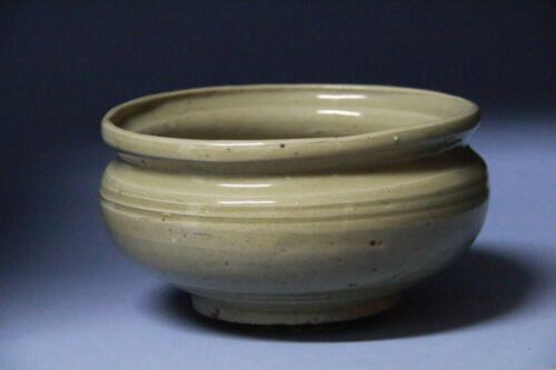 Yuan Dynasty  Green Glaze Brush Container #S020