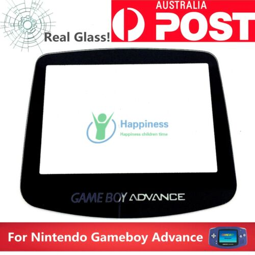Nintendo GameBoy Advance Screen Lens (1 Piece) REAL GLASS!  Never Abrasion! <br/> Continued sales in Melbourne 4 years &Sent the same day