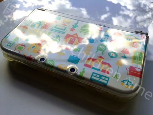 For Nintendo New 3DS XL/LL Clear TPU Tenacity Case Transparent Skin Cover