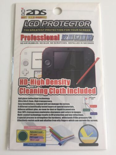 New Clear LCD Screen Protector Film for Nintendo 2DS