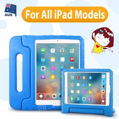 Kids Shockproof Heavy Duty Tough Case Cover For 8 7 6 5 4 3 2 iPad Mini Air Pro
