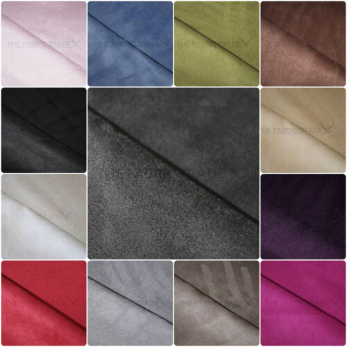 PREMIUM FAUX SUEDE MICROFIBER UPHOLSTERY CURTAIN CAR INTERIOR HEADLINE FABRIC <br/> A+ Quality, 225gsm Weight, MULTIBUY DISCOUNT