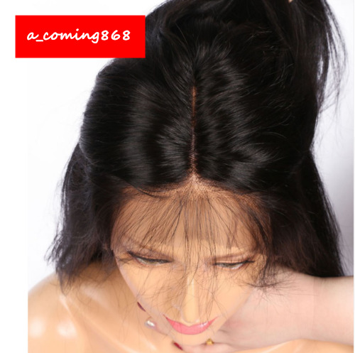 """Black Hair Wigs For Women Long Straight Lace Front Full Wig With Baby Hair 26"""""""