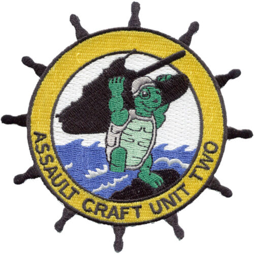Assault Craft Unit Two ACU-2 PatchPatches - 36078