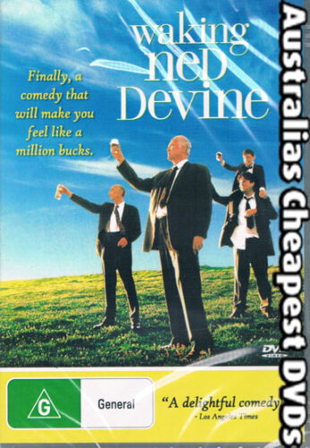 Waking Ned Devine DVD NEW, FREE POSTAGE WITHIN AUSTRALIA REGION ALL
