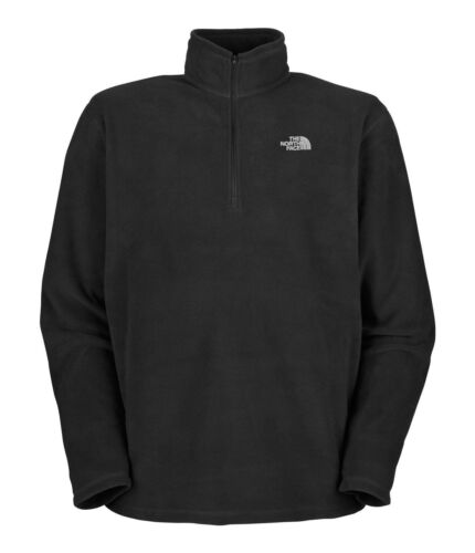 THE NORTH FACE Men's Glacier 1/4 Zip 100 WT Fleece Jacket TNF Black sz S~XXL