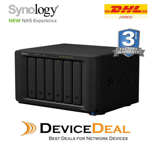 Synology DiskStation DS3018xs 6 Bay Diskless NAS Dual Core CPU 8GB RAM