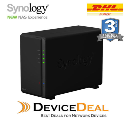 Synology NVR1218 2 Bay Dual Core CPU 1GB RAM Network Video Recorder - 4 channel