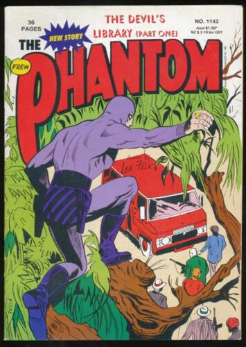 The Phantom, Comic Book, #1143, The Devil's Library (Part 1), 1996