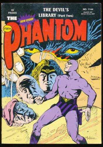 The Phantom, Comic Book, #1144, The Devil's Library (Part 2), 1996