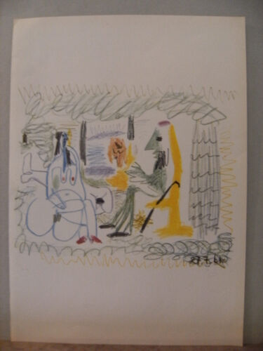 PICASSO LITHOGRAPHY