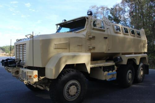 CUSTOMIZED MILITARY VEHICLE BUILT ON A 6X6 CAIMAN CHASSIS  <br/> PLEASE SEE VIDEO FOR MORE INFORMATION