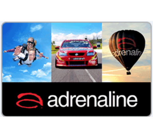 Adrenaline Gift Card $50 or $100  - Email Delivery via PayPal  <br/> Delivered within hours (may take up to 24 hours)
