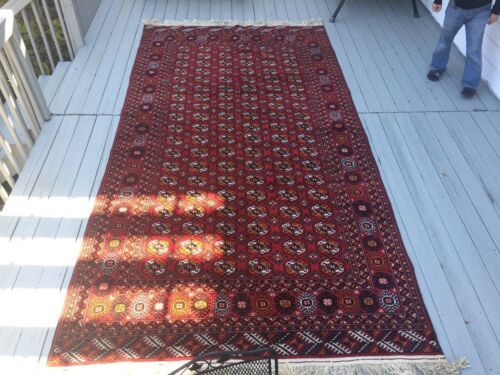 Bokhara Rug Made By Hand