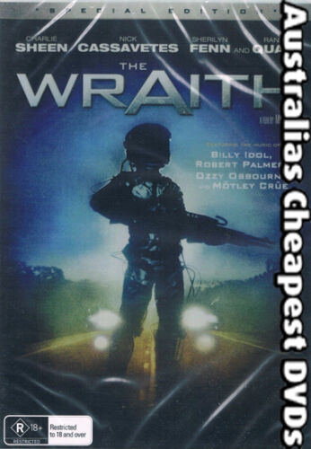 The Wraith DVD NEW, FREE POSTAGE WITHIN AUSTRALIA REGION ALL