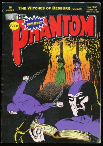 The Phantom, Comic Book, #1255, The Witches of Bedburg, 2000