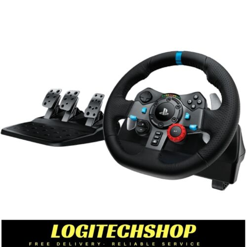 Logitech G29 Driving Force Racing Wheel For PS3 / PS4 & PC (Free Postage)