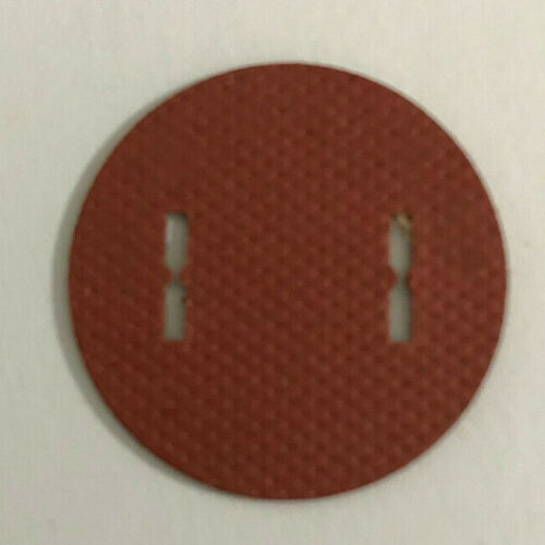 New Plug Insulator Designed To Fit Early Style Round Lamp Plugs #INS319