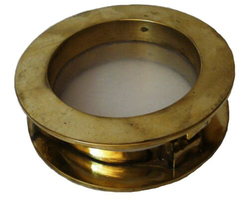 Marine BRASS PORT HOLE / Window / Porthole - 4 INCHES - 100% SATISFACTION