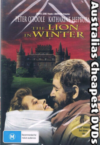 The Lion In Winter DVD NEW, FREE POSTAGE WITHIN AUSTRALIA REGION ALL
