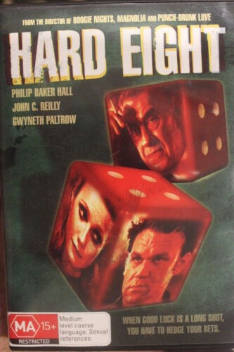 HARD EIGHT RARE DELETED DVD REGION 4 FILM PHILIP BAKER HALL, JOHN C REILLY