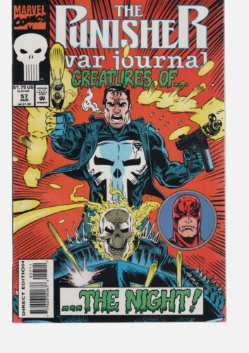 PUNISHER WAR JOURNAL 57  GOOD SELECTION OF PUNISHER /  MARVEL COMICS IN STOCK