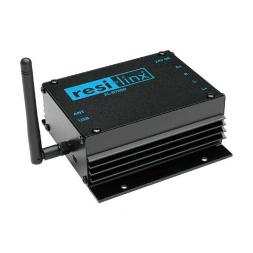 RESI-LINX 50W RMS Stereo Compact Amplifier AMP/Bluetooth Receiver for Speakers
