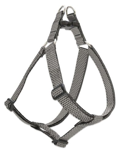 New Granite Grey Dog Harness In 12 34