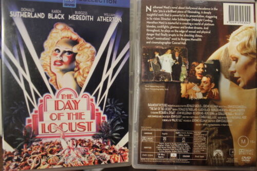 THE DAY OF THE LOCUST RARE DELETED PAL DVD OOP DONALD SUTHERLAND & KAREN BLACK