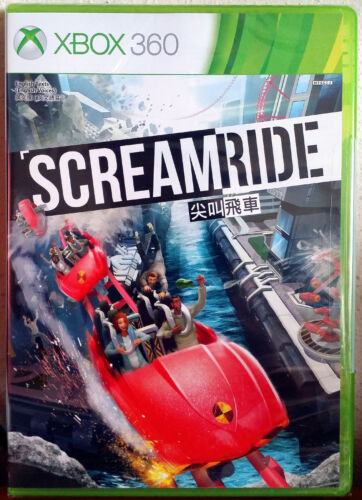 Xbox 360 Game - Screamride (New)