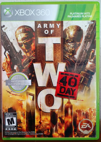 Xbox 360 Game - Army of Two : The 40th Day