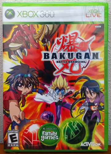 Xbox 360 Game - Bakugan Battle Brawlers (New)
