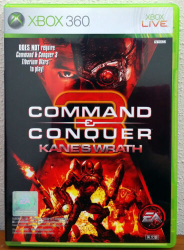 Xbox 360 Game - Command & Conquer 3: Kane's Wrath