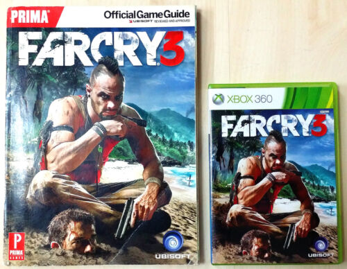 Xbox 360 Game - Far Cry 3 c/w Official Guide