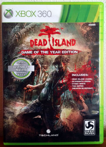 Xbox 360 Game - Dead Island (Game of the Year Edition)