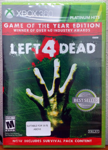 Xbox 360 Game - Left 4 Dead Game of the Year Edition (New)