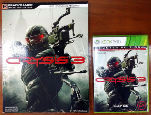 Xbox 360 Game - Crysis 3 (Hunter Edition) c/w Official Guide