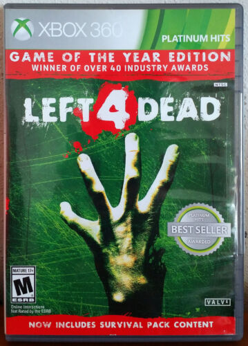 Xbox 360 Game - Left 4 Dead : Game of the Year Edition